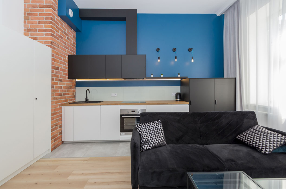 A loft style apartment for rent