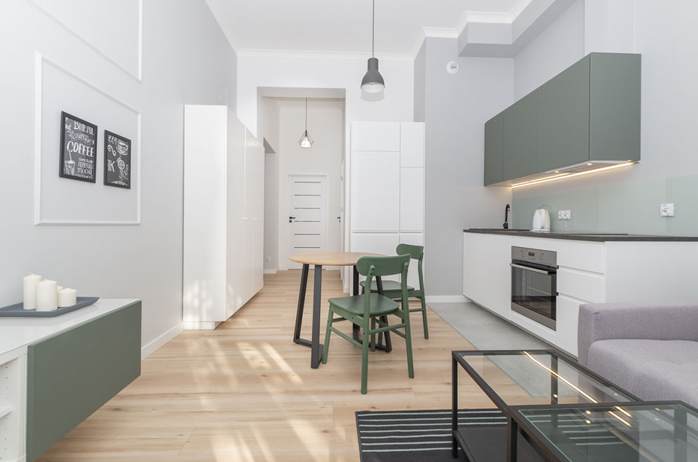 A modern style apartment for rent