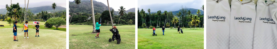 Inaugural golf tournament organized by Leach & Lang